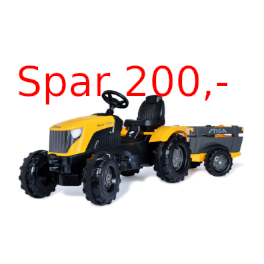 MINI T-300 STIGA legetøjshavetraktor med pedalfremdrift