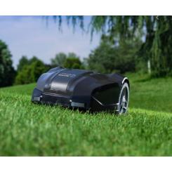 Stiga Robot 225 S Fremvises i haven på Elite Service