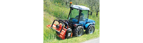 BCS 2 og 4-hjulede traktorer